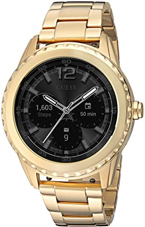 GUESS Cassidy Unisex Touch AMOLED Oro Reloj Inteligente - Relojes Inteligentes (AMOLED, Pantalla táctil