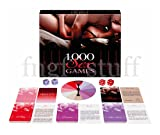 1,000 SEX GAMES Couples Foreplay Fun Board Card