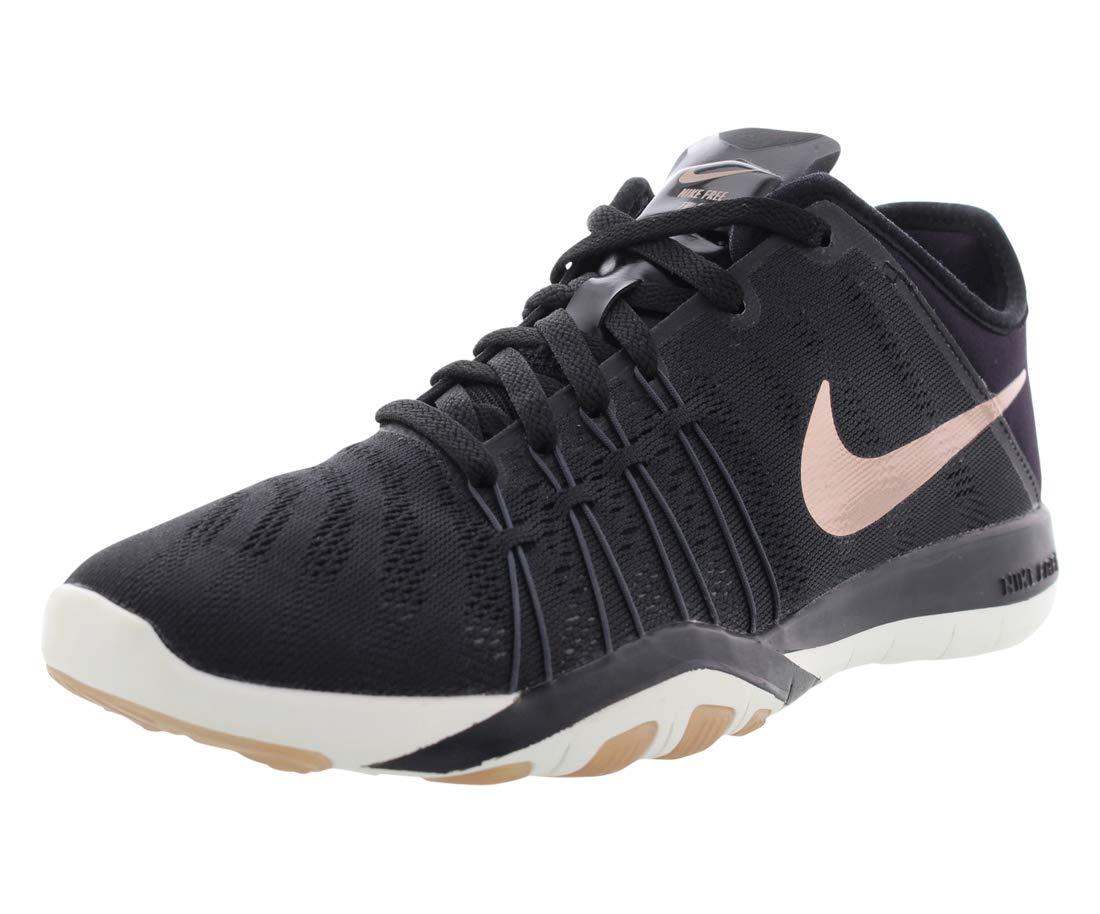 new product c0693 4dbc6 Galleon - Nike Free TR 6 Womens Cross Training Shoes (10 B(M) US, Black Metallic  Red Bronze Summit White Dark Grey)