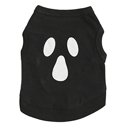 Amazon.com: Flurries 👻 Happy Halloween Black Cotton Ghost ...