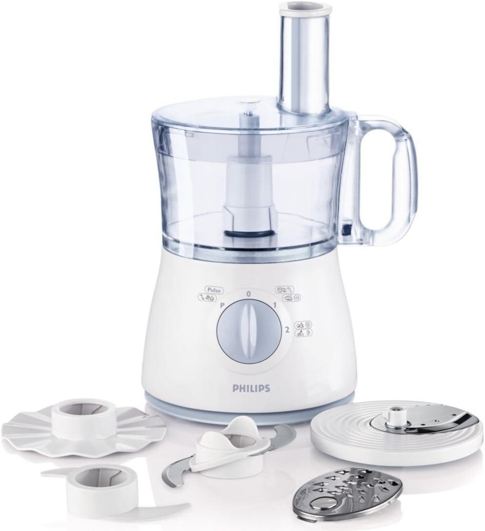 Philips HR7620, Azul, Blanco, 50 - Robot de cocina: Amazon.es: Hogar