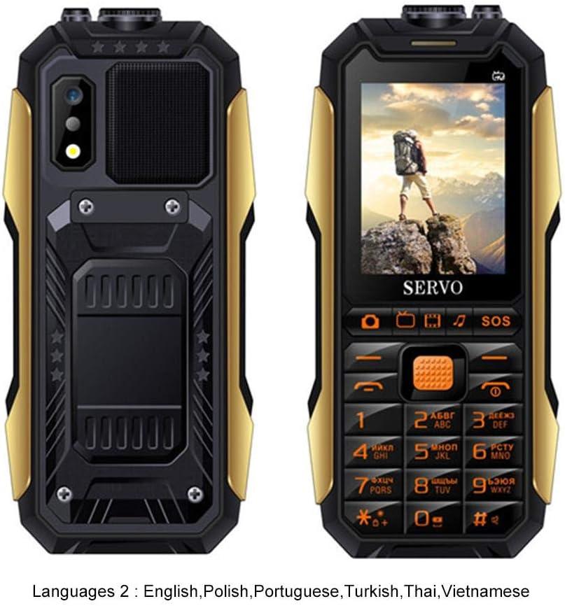Roful SERVO X7 Outdoor Teléfono Móvil 3 Tarjetas SIM 2.4