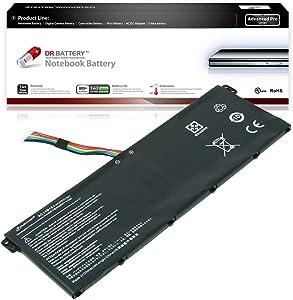 Dr. Battery - Advanced Pro Battery for Acer Aspire ES1-111M / ES1-520 / ES1-521 / ES1-531 / ES1-571-31XM / ES1-731-C5TV / V3-372T-5051 / Chromebook 11 CB3-111/13 CB5-311 / CB3-532 / AC14B13J