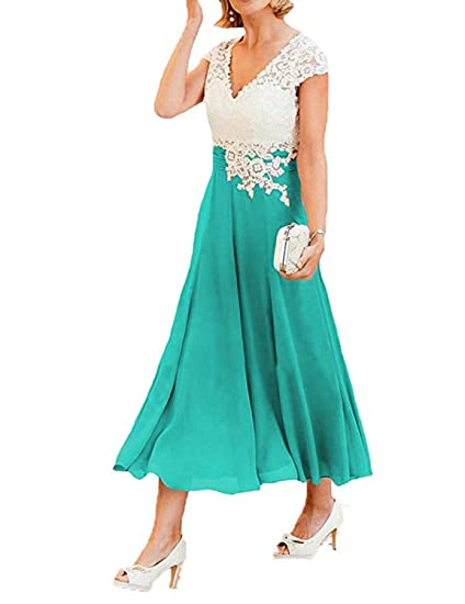 e281dfacbb53 Maxi Evening Gowns Short Sleeves Midi Bridesmaid Dress Weddings Mother of  The Bride B72: Amazon.co.uk: Clothing