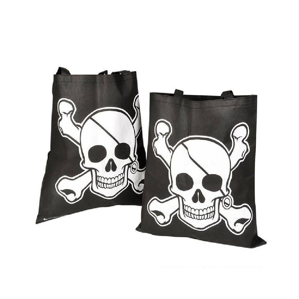 15''X16'' Pirate Tote Bags (With Sticky Notes) by Bargain World
