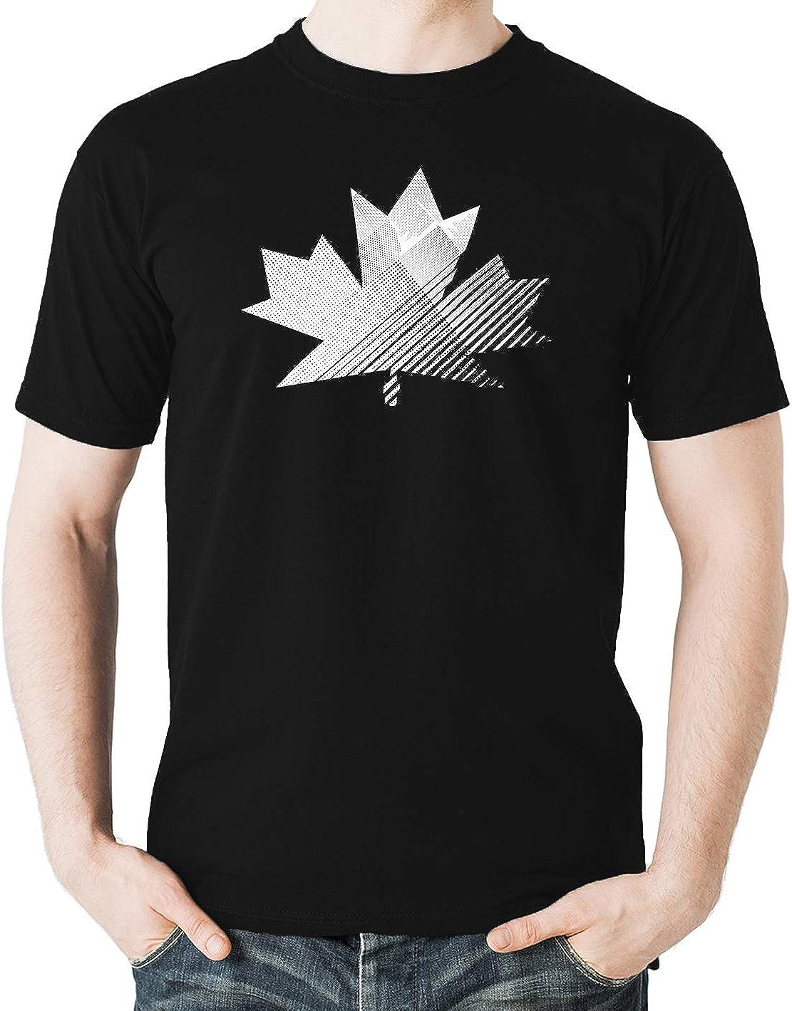 1st July Patriotic Canada Day Mens Tshirt Witty Fashions Canada Maple Leaf