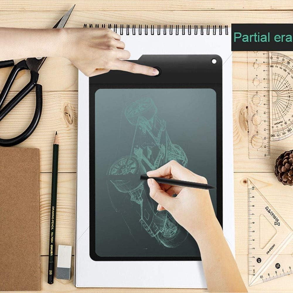 WSMLA LCD Writing Tablet 8.8 Inch Great Doodle Board Handwriting Board Local Erasure Drawing Tab Transparent Imitating Writing Tablet Digital Graphics