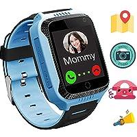 1.44 Pulgadas Touch Kids GPS Tracker Smart Watch con La Cámara SIM Llamadas Anti-perdido SOS Reloj Pulsera para Niños…