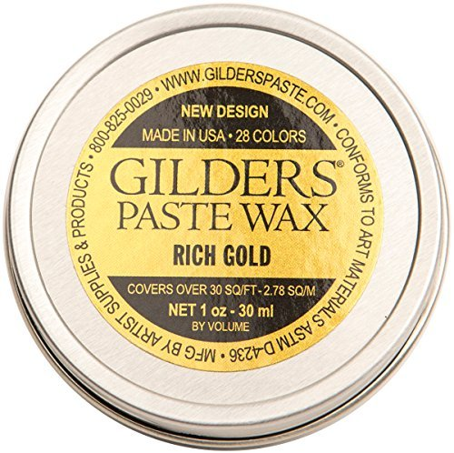 Paste Jewels - Gilders Paste GP-RG27 Baroque Art Gilders Paste, 1 Ounce, Rich Gold