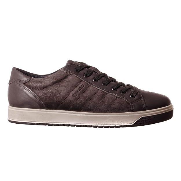 IGI&CO 87253/00 - Zapatillas de ante para hombre: Amazon.es: Zapatos y complementos