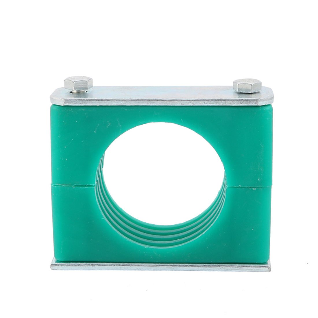 uxcell 50mm Dia Polypropylene Heavy Series Pipe Hose Tube Clamp w Aluminum Cushion