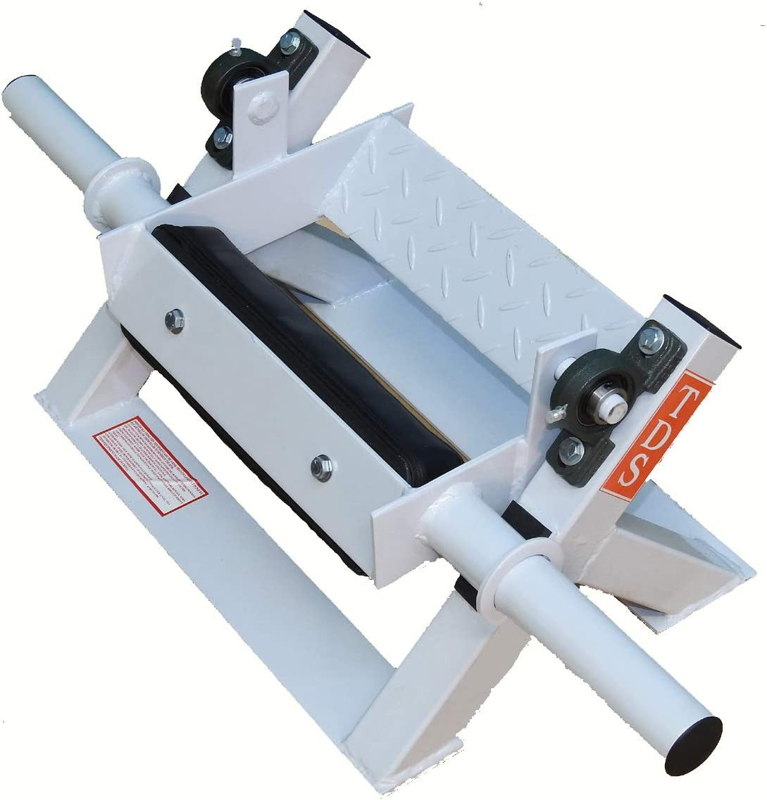 Tibia Dorsi to Exercise Each Leg independently or simultaneous. Pivots on 2 Industrial Grade Pillow Block Bearings. This is a Commercial Quality Machine. Thick Padding for Comfortable use