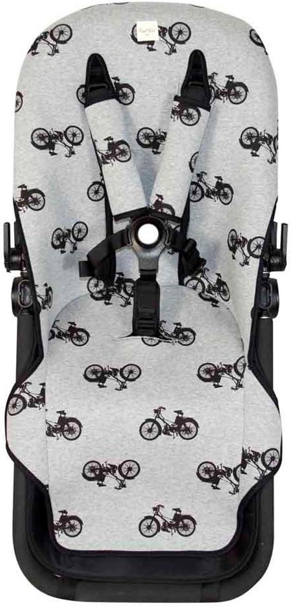 Colchoneta para silla de paseo Bugaboo Cameleon /® 3 Baby Bat F125//9099 Fundas BCN /®