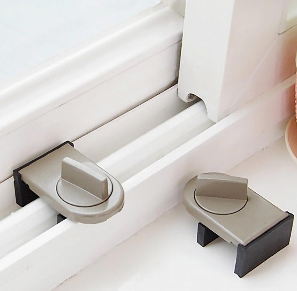 Amazon.com: Pausseo - Cerradura para puerta de ventana, para ...