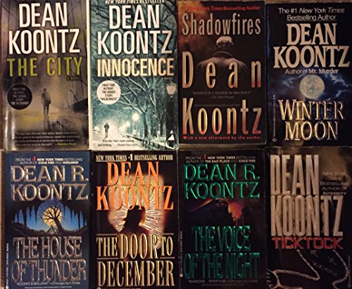Dean Koontz 8 Novel Collection (Dean Koontz Shadowfires compare prices)