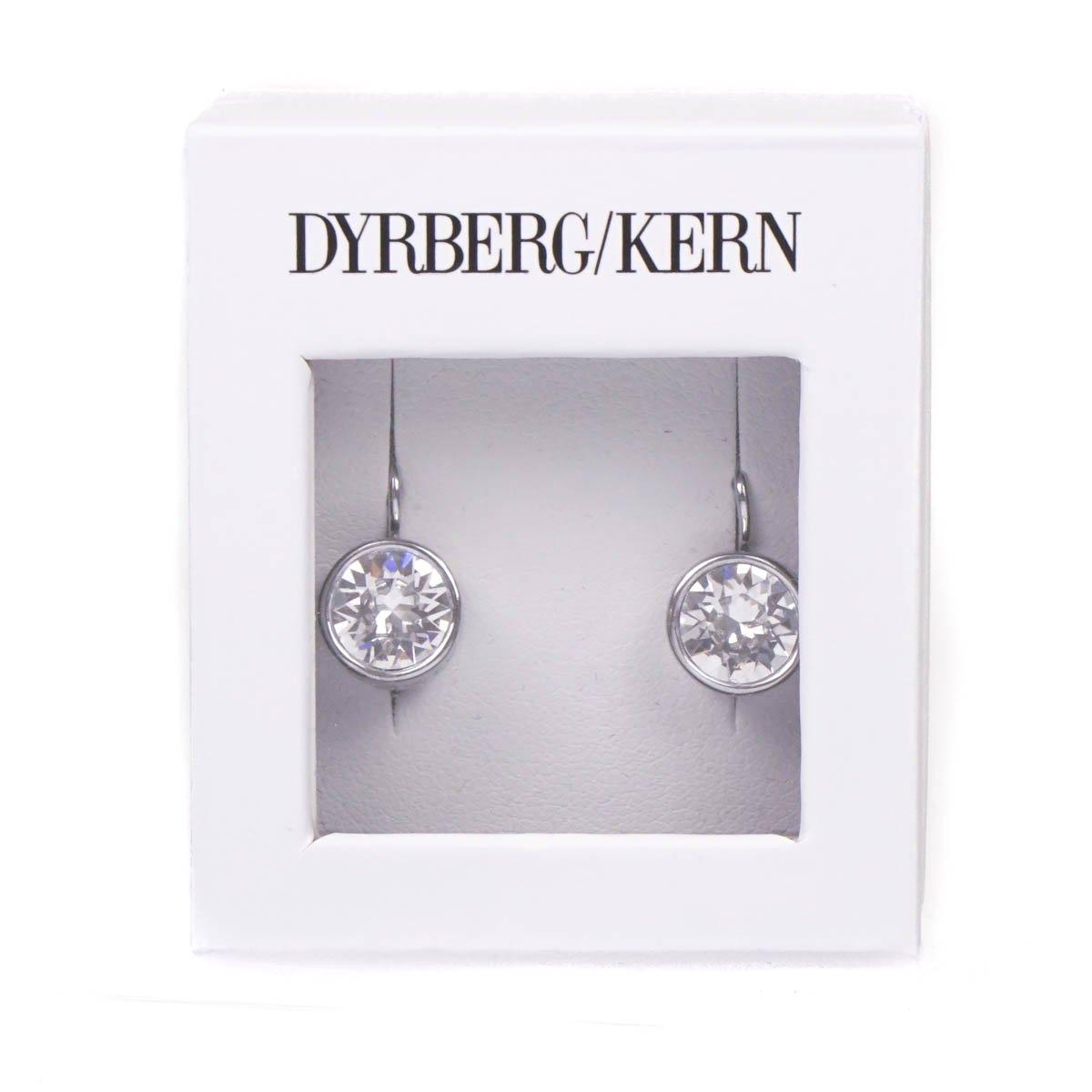 8c7b438d34093 Dyrberg/Kern Louise Swarovski Crystal French Hook Silver Plated Earrings