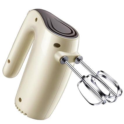 5-Batidora de mano speed batidor con aleación de aluminio batidor, Amasadora