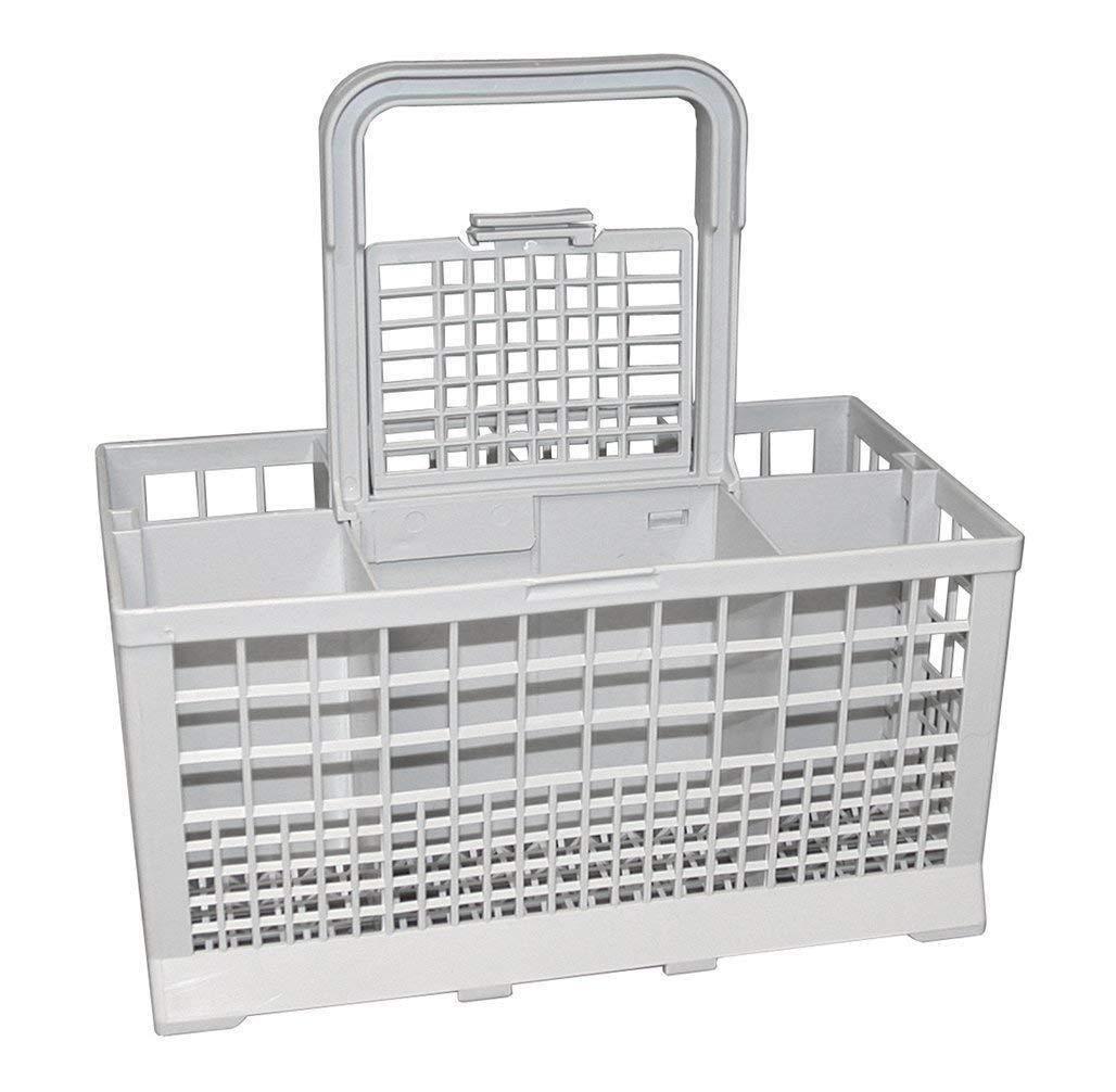 "Ximoon Universal Dishwasher Cutlery Silverware Basket for Kenmore, Whirlpool, Bosch, Maytag, KitchenAid (9.45"" x 5.5""x 4.7"") Grey"