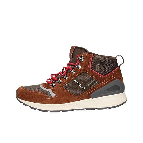 Ralph Lauren Polo 809712534003 Man uk Sneakers co Leather 46Amazon PvmN8wOyn0