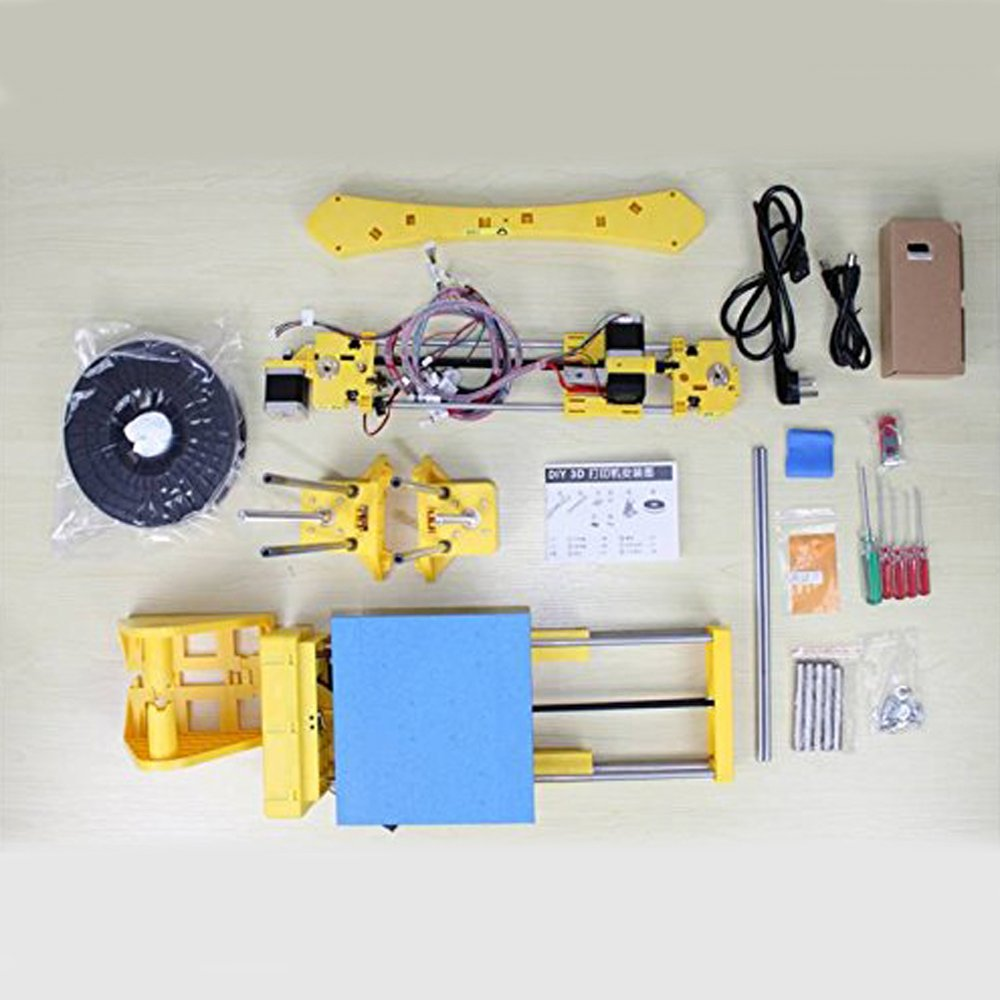 CoLiDo DIY 3D Printer with Filament Build Your own 3D Printer with This DIY 3D Printer Kit LMD006XQ7J