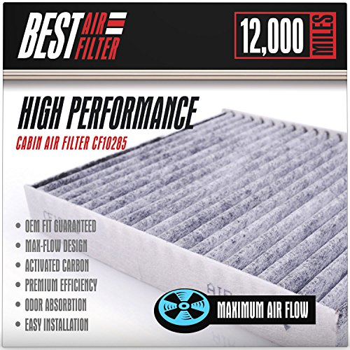 Best Cabin Air Filter for Toyota / Lexus / Scion / Suburu (CARBON ACTIVATED) Replacement Filter for Toyota, Lexus, Scion, Subaru, Camry, Corolla, Prius, Legacy, Outback - Competes with FRAM CF10285