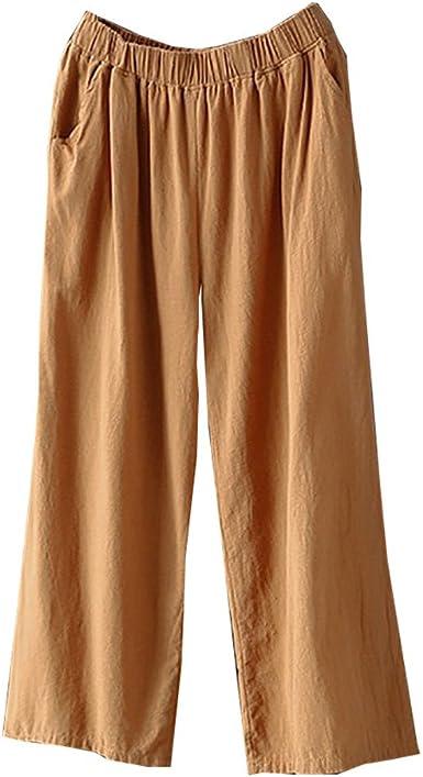 Women Plazzo Wide Leg 3//4 short Pants Ladies Loose Capri Trousers  SIze UK 8-26