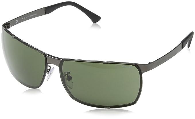 Amazon.com: Police anteojos de sol s8959 Cubo 60627 metal ...