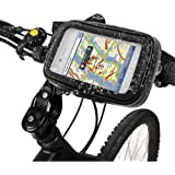 LUPO Waterproof Universal Mount – For Motorcycles and Bicycles, Universal Fit for Smart Phones and GPS Sat Nav Devices, Waterproof Detachable Case, Full Touch Sensitivity