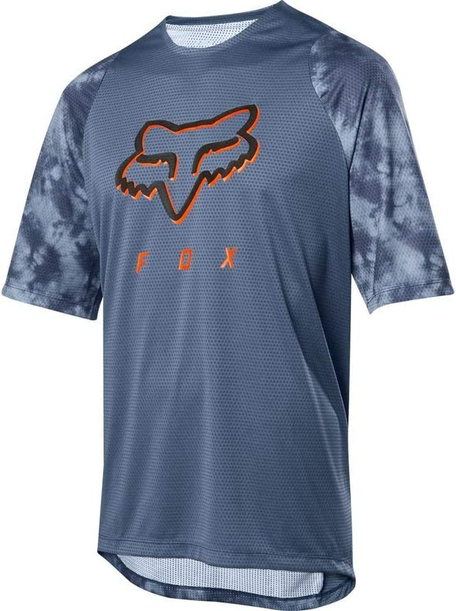305 L Fox Unisex-Adult Defend Ss Elevated Jersey Blue Steel L Tees