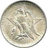 1934 P Silver Commems (1892-1954) Texas Half Dollar MS64 PCGS