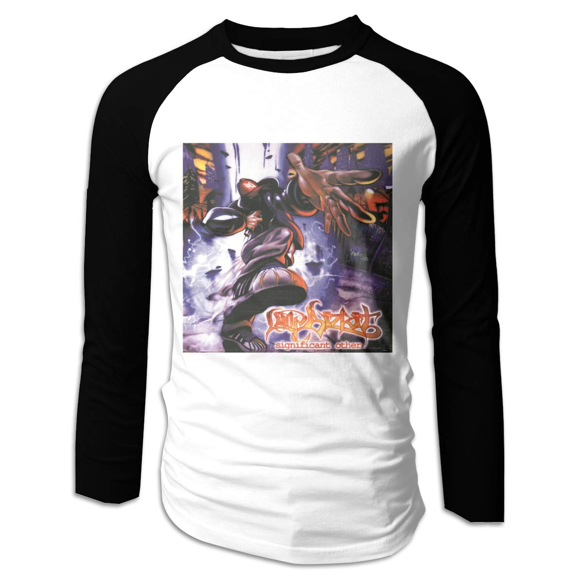 Wonalissy Men Limp Bizkit Significant Other Supersoft Outdoor Long Sleeve Shirt
