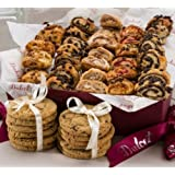 Dulcet Gift Baskets Sweet Success Gourmet Cookie and Snacks Gift Basket Unique All Occasions present Holidays, Birthday…