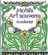 Motifs Art nouveau à colorier par Bone