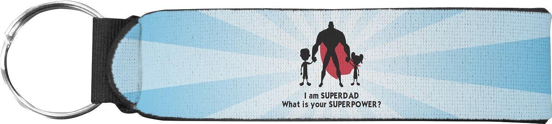 Super Dad Keychain Fob