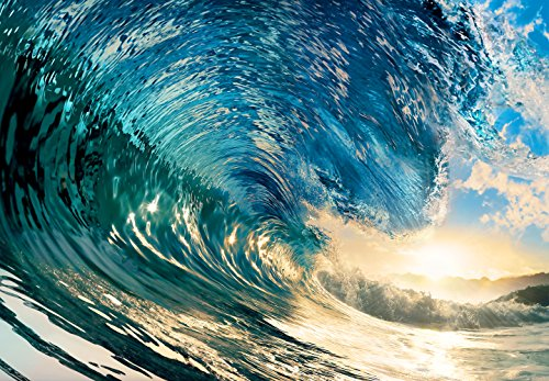 Wizb0|#Wizard & Genius DM962 The Perfect Wave Wall Mural, by Wizard (Image #1)