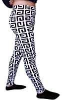 Pattern Print Women's Stretch Leggings Tights Pants