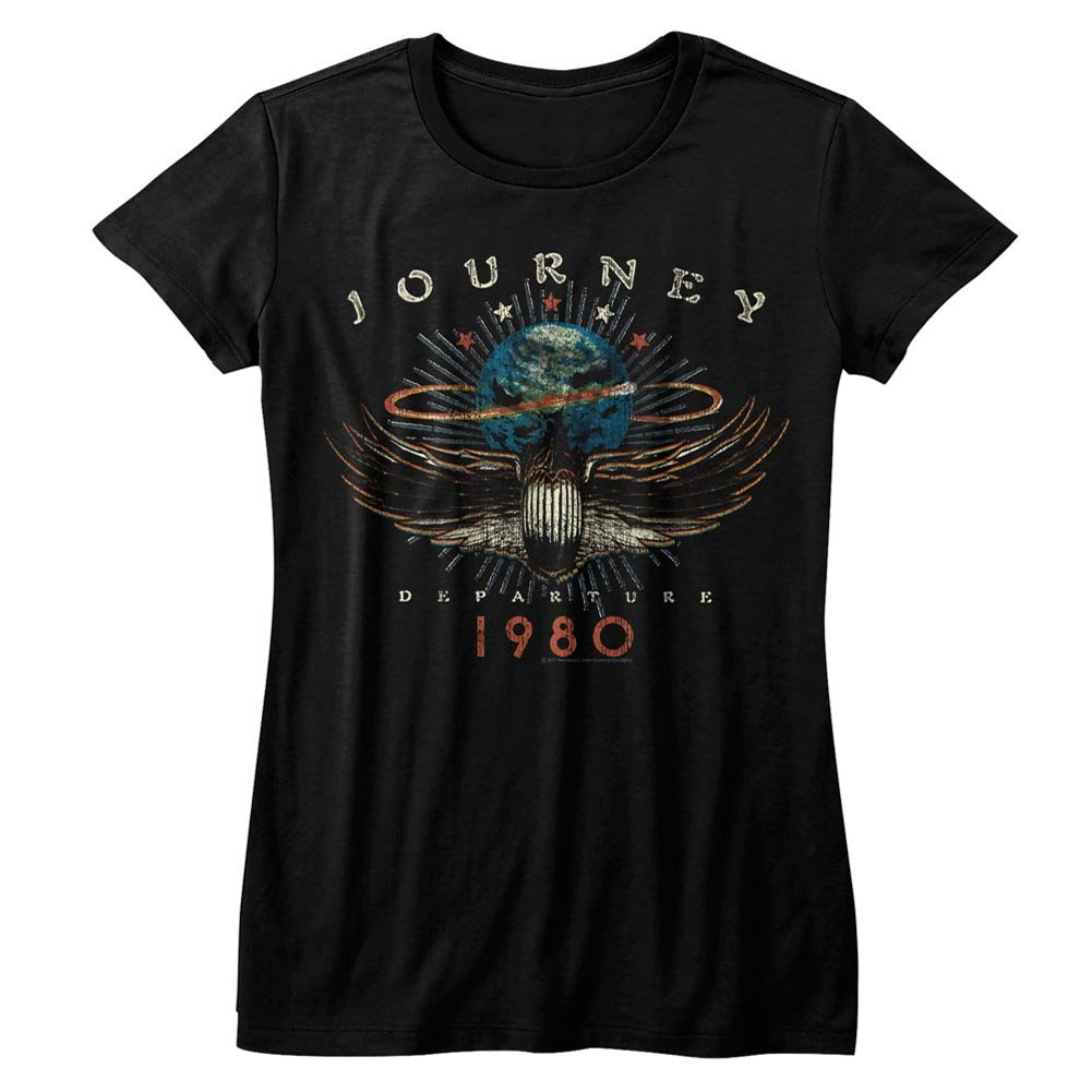 American Classics Journey 1980 Black Womens T-Shirt Tee
