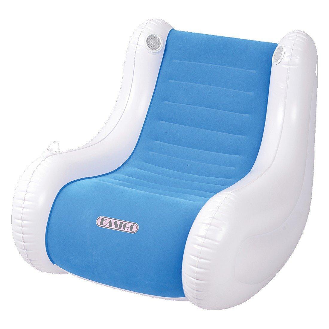 Jilong, Poltrona gonfiabile con altoparlante Easigo Speaker Chair, 2 colori assortiti JL037259N -P47