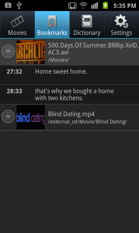 blind dating MP4