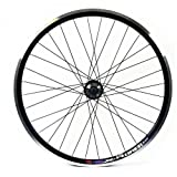 Wilkinson Zac Rear Wheel with Shimano Hub - Black, Size 26 x 1.75