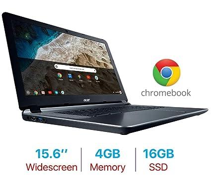 2019 Acer Premium 15 6'' Chromebook ComfyView Display Laptop PC, Intel  Dual-Core Celeron 1 6GHz, 4GB RAM, 16GB Flash Drive, Bluetooth 4 2, Webcam,