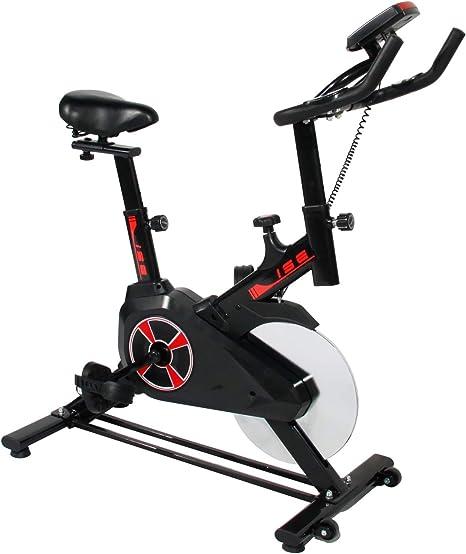 soges Bicicleta estática con Pantalla LCD Bicicleta Fija ...