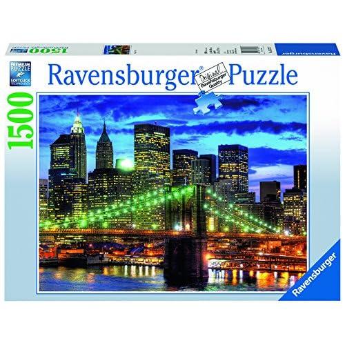 Ravensburger 16272 - Puzzle - Skyline New York - 1500 pièces