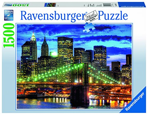 Ravensburger Skyline New York City Jigsaw Puzzle (1500 Piece) (New Puzzles York)
