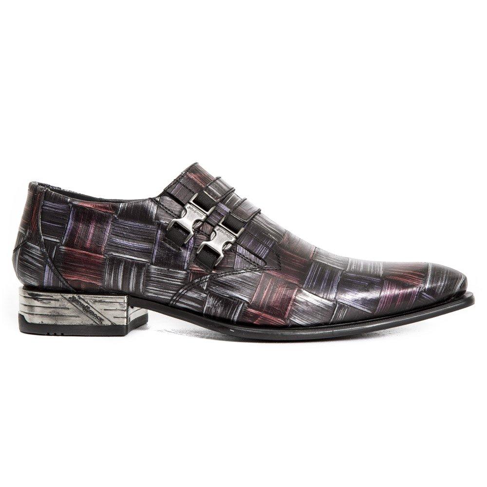New Rock Rock Rock NR M.2288 S14 silver, röd, lilac Boots, VIP, Hälskor, M än  välkommen att köpa