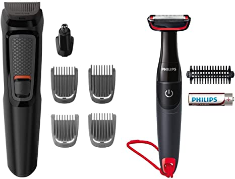 Philips Kit multifunción Mg3710/85 Grooming Kit Serie 3000, Kit ...