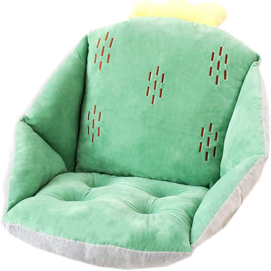 Lovely One-Piece Semi Encircling Chair Pads and Cushions Thickened Dining Chair Cushion Floor /& Sofa Buttocks Waist Cushion Brown Hamster