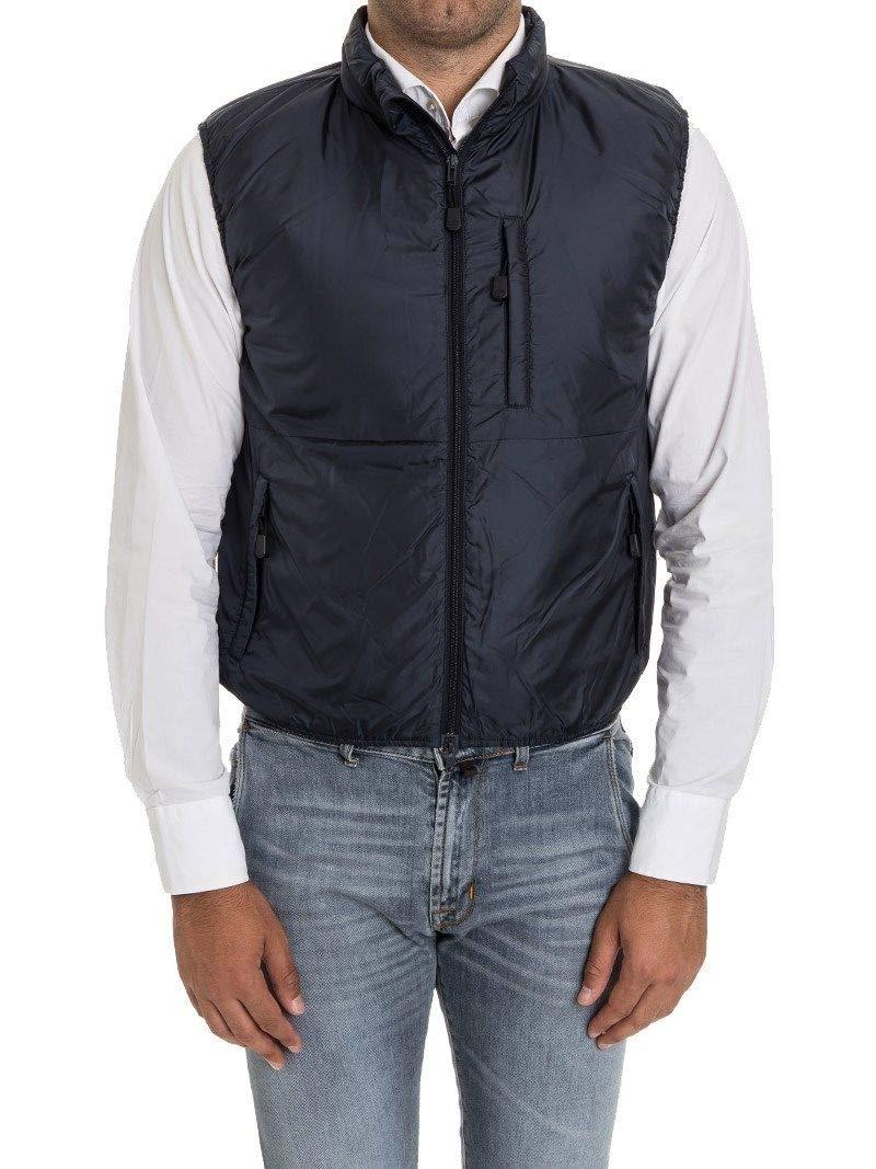 - Aspesi Men's G199796196101 bluee Polyamide Vest
