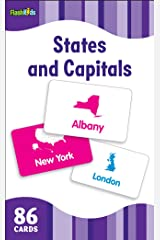 States and Capitals (Flash Kids Flash Cards) Cards