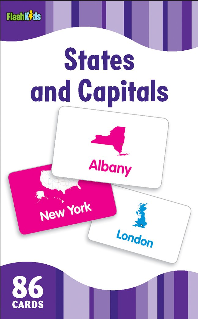 graphic relating to State and Capitals Flash Cards Printable identify Says and Capitals (Flash Youngsters Flash Playing cards): Flash Young children